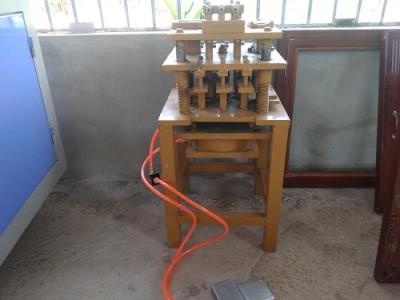 bàn giao máy nhôm 1