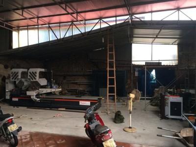bàn giao dàn máy nhôm tại đồ sơn hải phòng 6