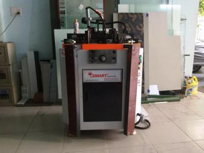 bàn giao dàn máy sản xuất cửa nhôm tại cẩm lệ đà nẵng 4