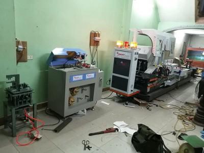bàn giao dàn máy sản xuất cửa nhôm tại hưng yên anh thao 1