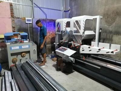 bàn giao dàn máy sản xuất cửa nhôm tại hưng yên anh thao 5